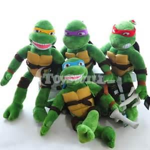 classic mutant ninja turtles donatello plush toy purple