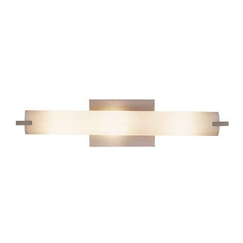 tube brushed nickel bathroom light vertical