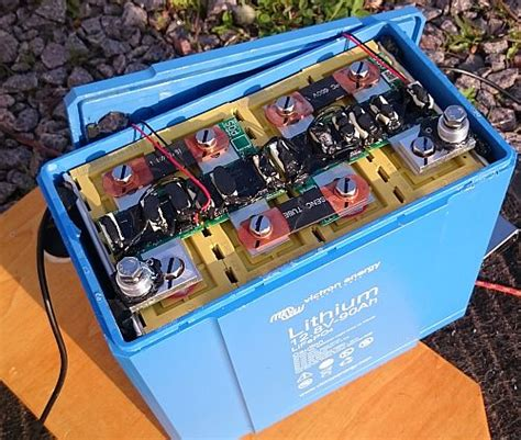 Lifepo4 Lithium Beste Batterie Im Wohnmobil