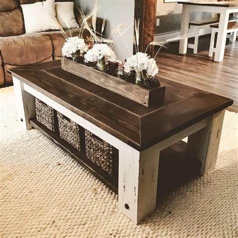 diy farmhouse coffee table plans woodworking plans diy