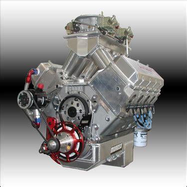 632 Big Block Chevy Aluminum Tunnel Ram Drag Race Engine