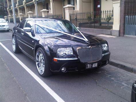 Black Chrysler 300c Wedding Cars In Melbourne, Vic, Limos
