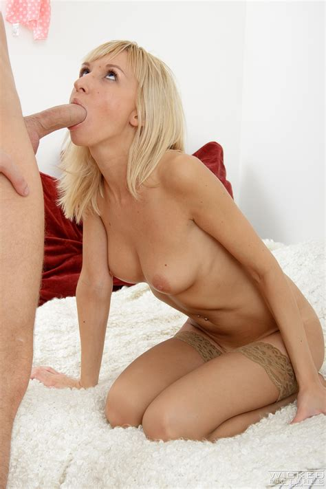 Russian Blonde Is Having Sex For Money Milf Fox