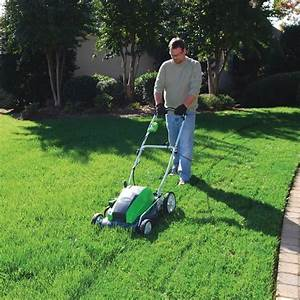 Greenworks 25112 21 U0026quot  13 Amp Corded Electric Lawn Mower
