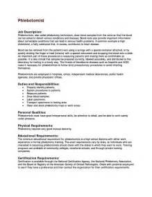 sle resume for assistantphlebotomist qualifications resume 50 phlebotomist resume sle phlebotomist resume objective phlebotomist