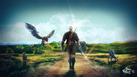 Animated Witcher 3 Wallpaper - the witcher 3 wallpaper by iuseimagination on deviantart