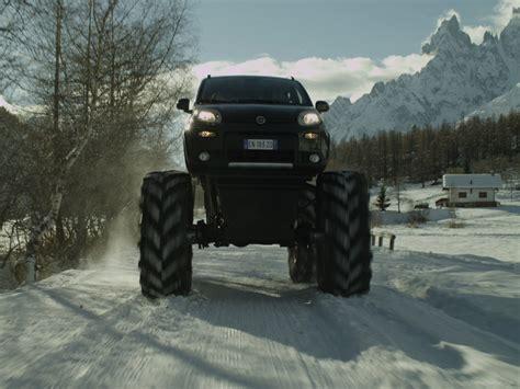 monster trucks videos 2013 fiat panda monster truck 2013 exotic car wallpaper 03 of