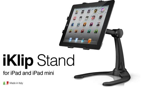 alat dj ipad tabletop stand ik multimedia iklip stand