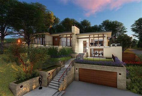Modern Hillside Homes Plans Modern House