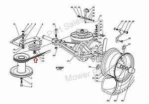Genuine Transmission Drive Belt Fits Castel Garden F72
