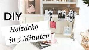 Deko Ideen Selbermachen : deko aus holz in 5 minuten 3 diy ideen zum selber machen ~ A.2002-acura-tl-radio.info Haus und Dekorationen