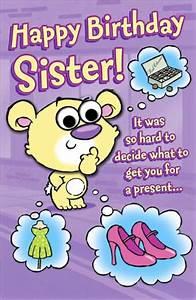 Funny Birthday Ecards Sister