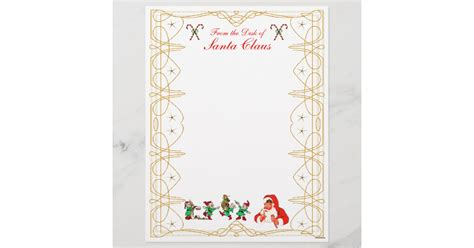 Find great designs for from the desk of letterhead on zazzle. From the Desk of Santa Claus Letterhead | Zazzle.ca