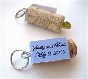 Quirky Cork Wedding Favor