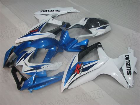 Oem Suzuki Fairings by 2008 2009 2010 Suzuki Gsxr600 Gsxr750 Oem Scheme Blue And