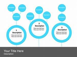 Powerpoint Slide - Hierarchy List Diagram - Circle
