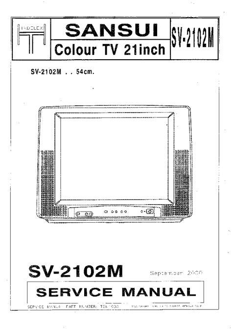 sansui tv circuit diagram   circuit diagram