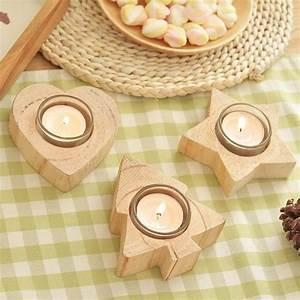 Teelichter Selber Machen : 100 ideen f r faszinierende deko aus holz schmuck von ~ Lizthompson.info Haus und Dekorationen