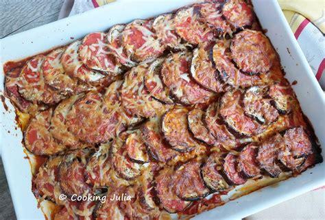 cuisiner des aubergines au four cooking aubergines gratinées à la tomate