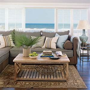 Beach style living room furniture set living room for Beach themed living room furniture
