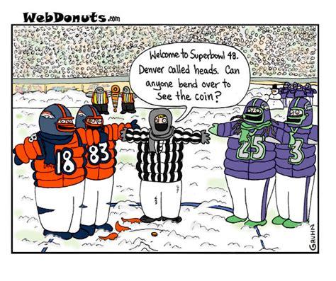 Super Bowl Cartoon Webdonuts Webcomics