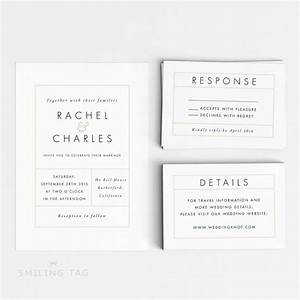 wedding invitation printable suite printable modern With wedding invitation suite sizes