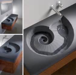designer bathroom sink brilliant spiral sink and wash basin design