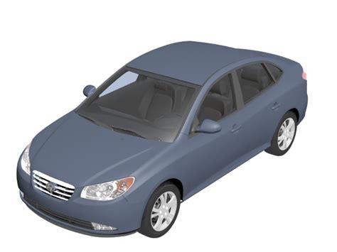 amazing hyundai car models hyundai elantra compact car 3d model 3dsmax files free