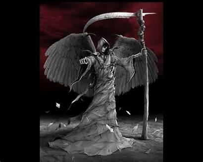 Skeleton Cool Skull Reaper Grim Wallpapers Death