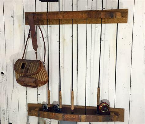 custom made great lakes fly fishing rack napa valley wine