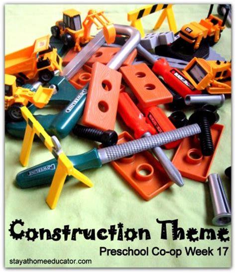 preschool co op week 17 letter bb 919 | Construction theme preschool unit