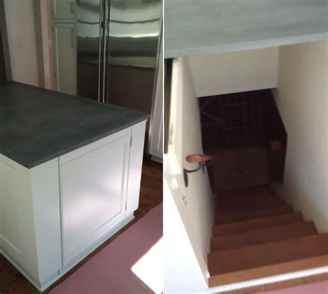 The Ol' Kitchen Island Hidden Wine Cellar   Geekologie