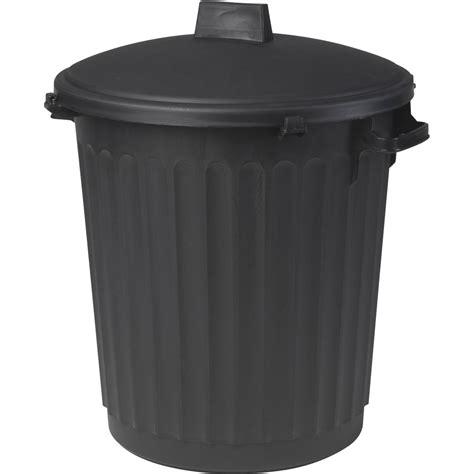 poubelle cuisine plastique poubelle de rue 80 l h 67 x l 51 x p 51 cm leroy merlin