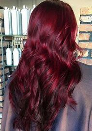 Burgundy Auburn Hair Color