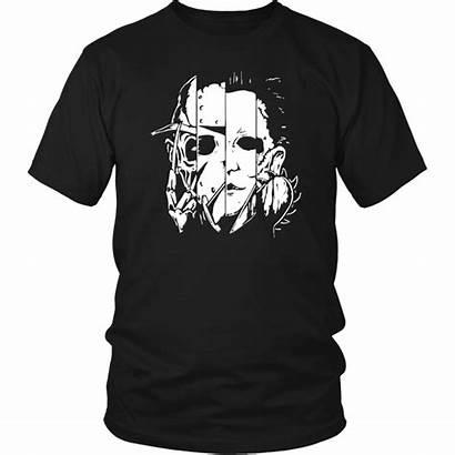 Horror Characters Mashup Halloween Shirtelephant Wishlist