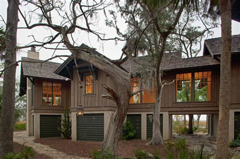 Low Country Tree House  Beach Style Exterior