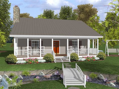 covered front porch canton crest ranch home plan 013d 0154 house plans and more