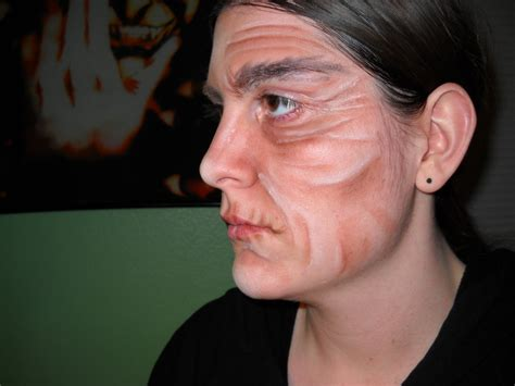 Old Age Makeup Practice By Vgfaery On Deviantart