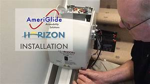 Ameriglide Horizon Standard Stair Lift Installation