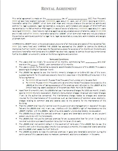 legal document template  printable documents