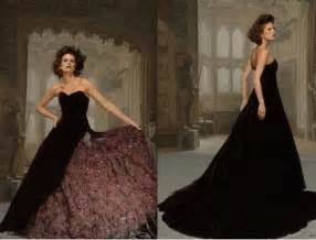 black gowns for wedding and black wedding dresses handmade steunk wedding dresses