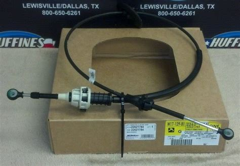 repair shift gear cable    chevrolet avalanche