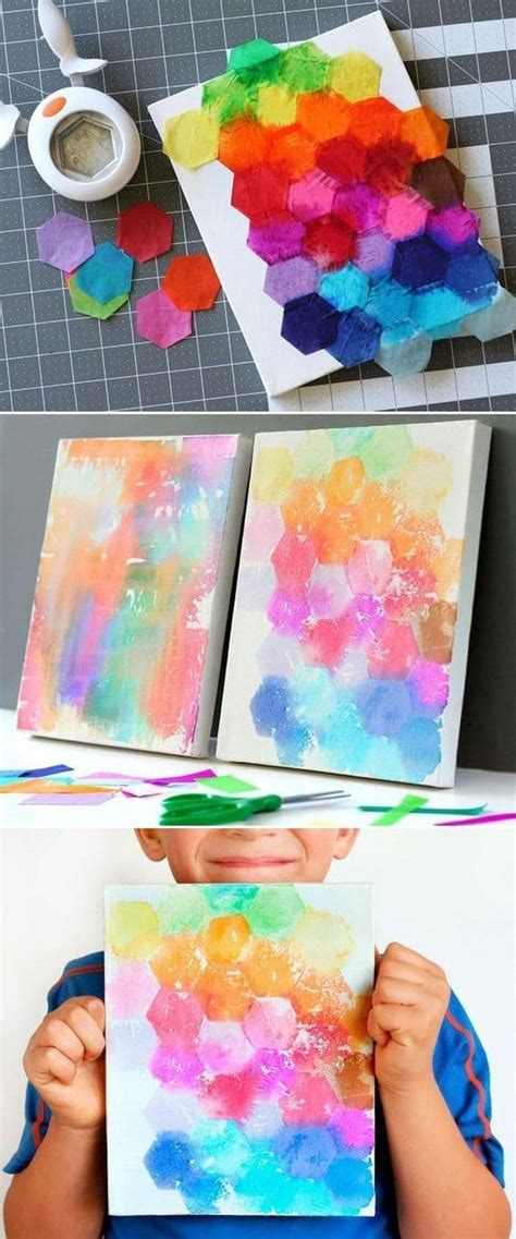 19 and easy painting ideas for homesthetics 998 | 19 Fun And Easy Painting Ideas For Kids 2
