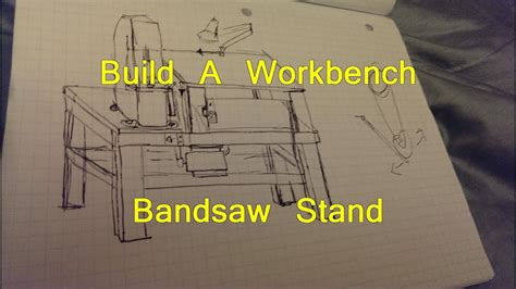diy bandsaw table work bench part    youtube