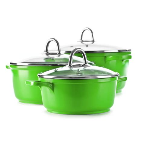 pots cuisine green cooking pots storefront