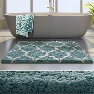 tapis de bain grande taille casa pura moelleux et epais With tapis de bain tres epais