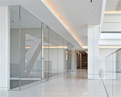 interior glass walls custom frameless glass walls in new jersey office glass