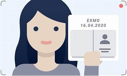 Selfie Exmo Paper Document Verification Verify Identity