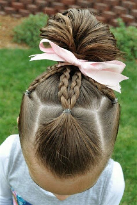 8 Quick And Easy Little Girl Hairstyles Easy little girl