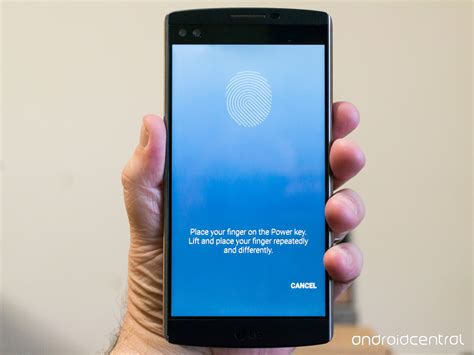 phones with fingerprint how to set up the lg v10 fingerprint scanner android central